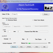 Atom TechSoft 7Z Password Recovery 1.0 full screenshot