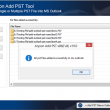 Add PST File to MS Outlook 19.0 full screenshot