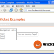 Apache Wicket 6.14.0 full screenshot