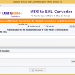 DataVare MSG to EML Converter Expert 1.0 full screenshot