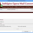 Opera Mail to Outlook 1.4.1 full screenshot