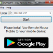 Vov Remote Mouse 1.0 full screenshot
