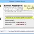 Remove Password from MDB 1.9.9 full screenshot