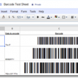Barcode Generator for Google Docs 10.11 full screenshot