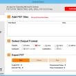 Save Outlook 2013 as PDF 1.2 full screenshot