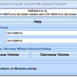 Increase or Decrease Computer Volume With Keyboard Software 7.0 full screenshot