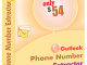 Outlook Phone Number Extractor 6.6.1.22 full screenshot