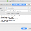 AnyToISO for Mac OS X 3.8.2 B563 full screenshot
