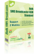 Bulk SMS Broadcaster GSM Standard 4.5.2 full screenshot