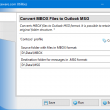 Convert MBOX Files to Outlook MSG 4.11 full screenshot