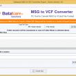 DataVare MSG to VCF Converter 1.0 full screenshot