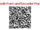 QR Code Font and Encoder Package 15.09 full screenshot