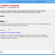 Zimbra Emails to Outlook 8.3 full screenshot