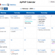 PHP Events Calendar Control 3.7.7 full screenshot