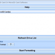 Format SD Card Or MicroSD Card Software 7.0 full screenshot