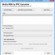 Batch Convert MSG to PDF format 6.0.1 full screenshot