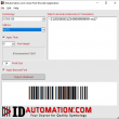 Linear Barcode Font Encoder Software App 2016 full screenshot