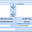 Join Two MP3 File Sets Together Software 7.0 full screenshot