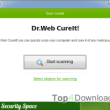 Dr.Web CureIt! 6 August 2018 full screenshot