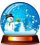 Snowman Snow Globe 1.1 full screenshot