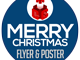Merry Christmas Flyer and Poster Template 1 full screenshot