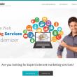 SEO Marketing HTML5 Template 2 full screenshot