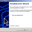 FreeExtractot 1.44.02 full screenshot
