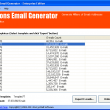 Millions Email Generator Lite Edition 9.0.0.208 full screenshot