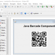 QR-Code Java Barcode 17.06 full screenshot