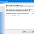 Remove Duplicate Messages for Outlook 4.9 full screenshot