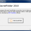 BDV SecretFolder 2010 full screenshot