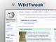 WikiTweak 1.0.3 full screenshot