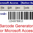 Barcode Generator for Microsoft Access 16.04 full screenshot