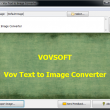 Vov Text to Image Converter 1.2 full screenshot