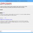 Zimbra Converter 8.3.1 full screenshot