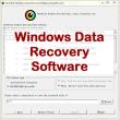VeryUtils Windows Data Recovery 2.3 full screenshot