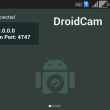 DroidCam 6.0.0 full screenshot