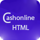 Cashonline - Online Money Transfer and Payments HTML Template 43782 full screenshot