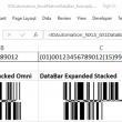 GS1 DataBar Microsoft Excel Generator 17.12 full screenshot