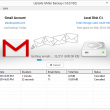 UpSafe GMail Backup 1.0.3.783 full screenshot