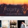 Polarity Browser 9.2.8 full screenshot