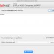 MailVita PST to MSG Converter for Mac 1.0 full screenshot