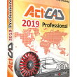 ActCAD 2019 Professional 64 Bit 8.4b full screenshot