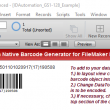 Code 128 Filemaker Barcode Generator 18.03 full screenshot