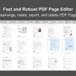 PDF Page Editor Pro Edition 1.2 full screenshot