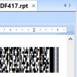 Crystal Reports PDF417 Barcode Generator 20.10 full screenshot