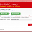 MSG to PDF Converter Batch 6.3 full screenshot