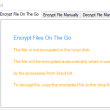 EaseFilter File Encryption On The Go SDK 5.0.7.1 full screenshot