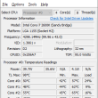 Core Temp 32bit 1.11 full screenshot