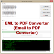 VeryUtils EML to PDF Converter 2.3 full screenshot